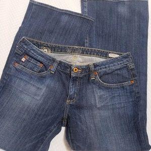 Big Star Sweet Low Rise bootcut denim jeans 32S